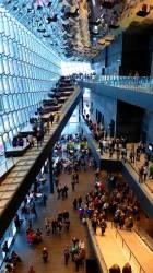 Потолок в конгресс-центре и концертном зале Харпа — фото 2