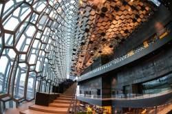 Потолок в конгресс-центре и концертном зале Харпа — фото 3