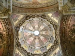 Потолок в Церкови Канделария в Рио-де-Жанейро