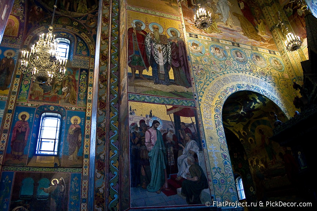 The Church of the Savior on Blood interiors – photo 56