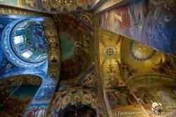 Потолки и декор храма Спас на Крови — фото 69