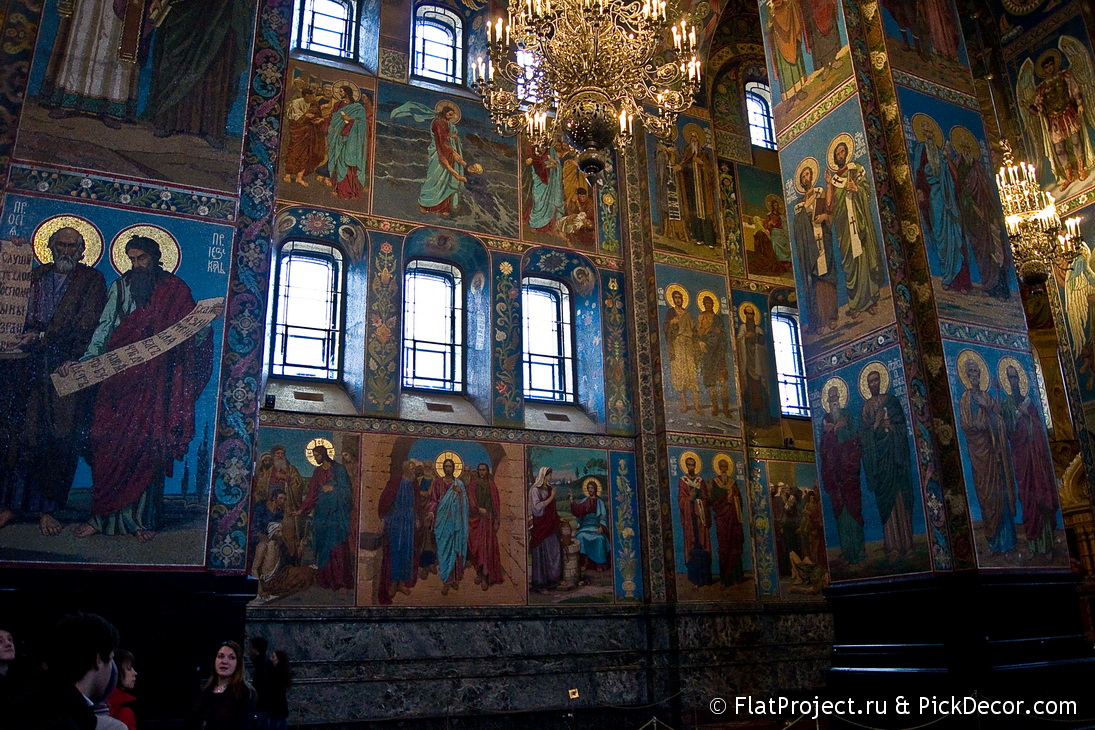 The Church of the Savior on Blood interiors – photo 33