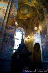 Потолки и декор храма Спас на Крови — фото 28
