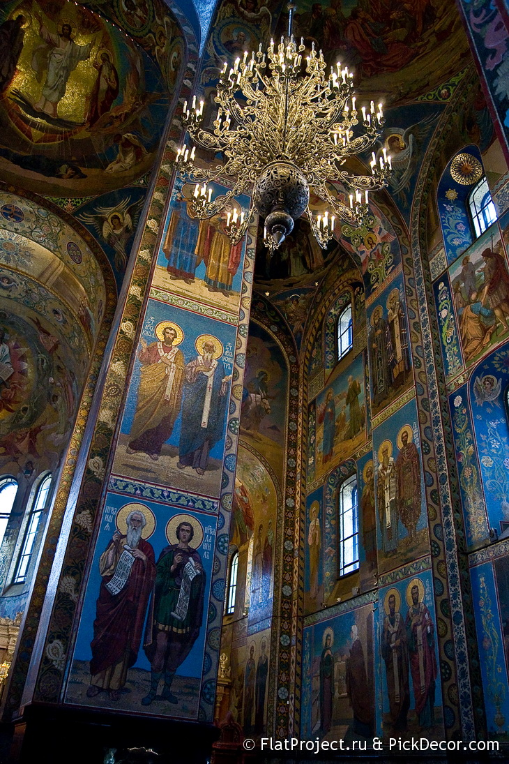 The Church of the Savior on Blood interiors – photo 91