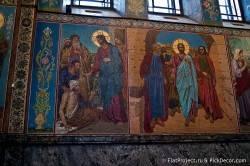 Потолки и декор храма Спас на Крови — фото 70