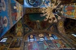 Потолки и декор храма Спас на Крови — фото 43