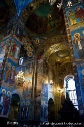 Потолки и декор храма Спас на Крови — фото 16