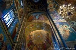 Потолки и декор храма Спас на Крови — фото 14