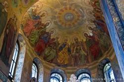 Потолки и декор храма Спас на Крови — фото 56