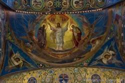 Потолки и декор храма Спас на Крови — фото 20