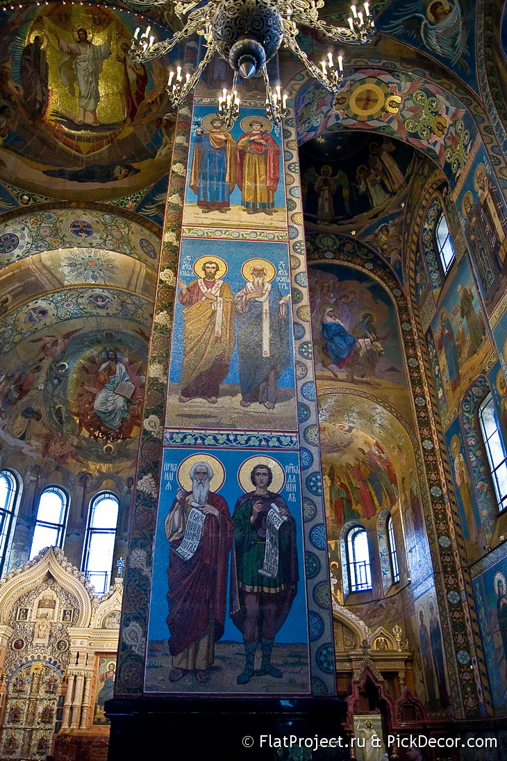 The Church of the Savior on Blood interiors – photo 75