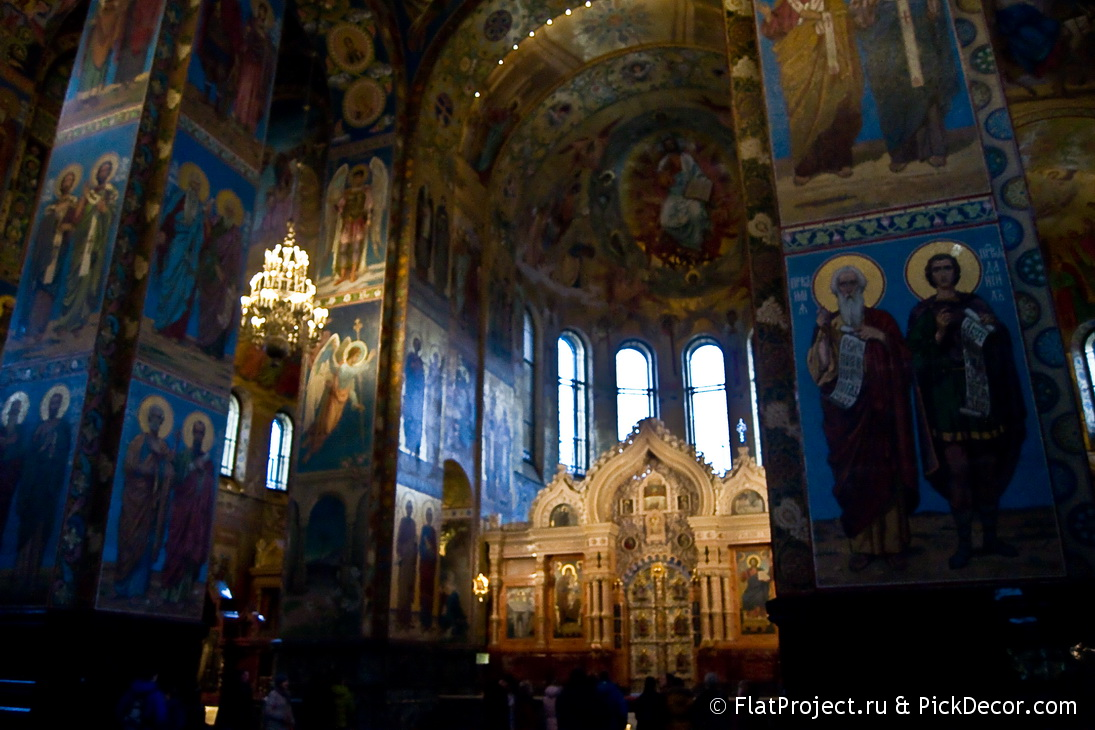 The Church of the Savior on Blood interiors – photo 107