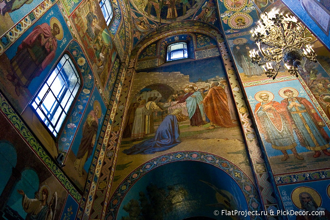 The Church of the Savior on Blood interiors – photo 81