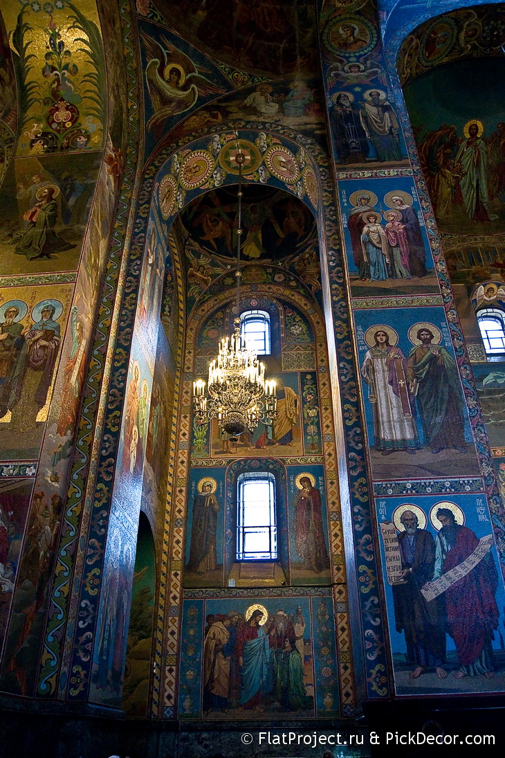 The Church of the Savior on Blood interiors – photo 32