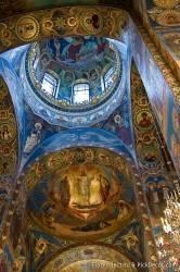Потолки и декор храма Спас на Крови — фото 33
