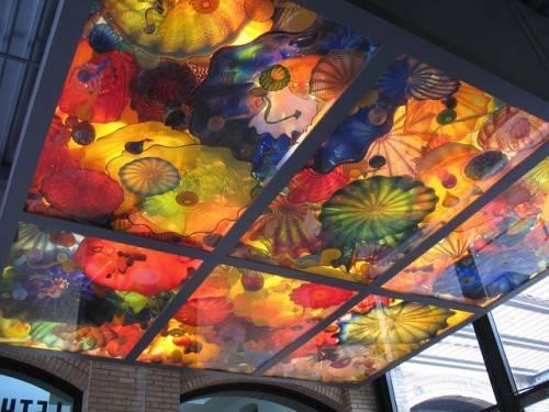 Персидский потолок из стекла