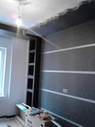 Двухуровневый потолок с волнистой гранью