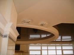 Комбинированный натяжной потолок от VIE-STYLE
