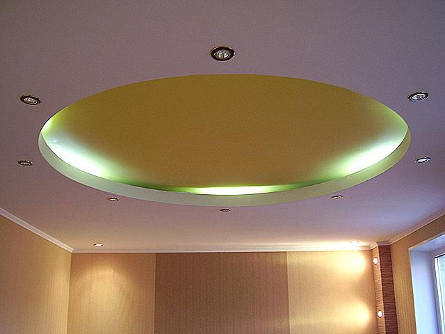 Потолок из гипрока от компании «Обнова» — 2