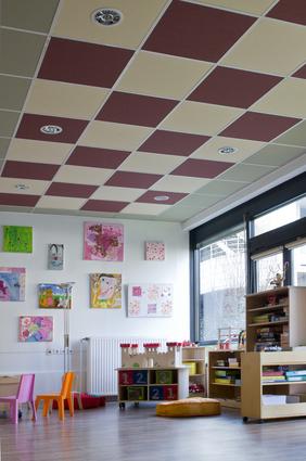 Потолок из панелей Rockfon Color-all®