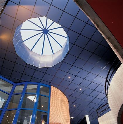 Потолок из панелей Rockfon Color-all® — 2