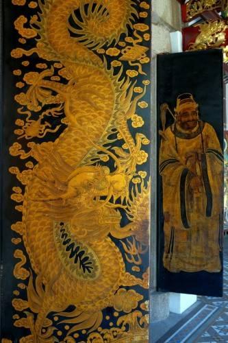 Тхиан Хок Кенг - роспись