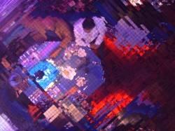 Зеркальный мозаичный потолок
