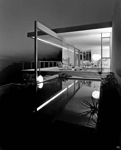 Chuey House. 1956 год. Фотография JULIUS SHULMAN.