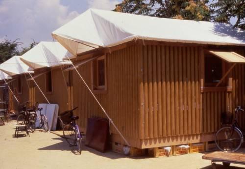 Paper Log House.