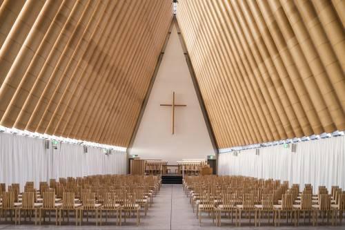 Картонный собор. Фотография Forgemind ArchiMedia.