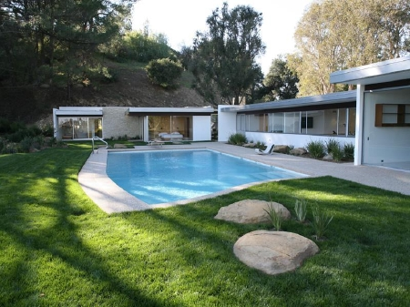 Singleton House. 1959 год.  Бель-Эйр, Лос-Анджелес.