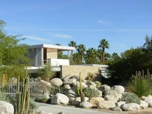 The Kaufmann Desert House. 1946 год. Палм-Спрингс, Калифорния.