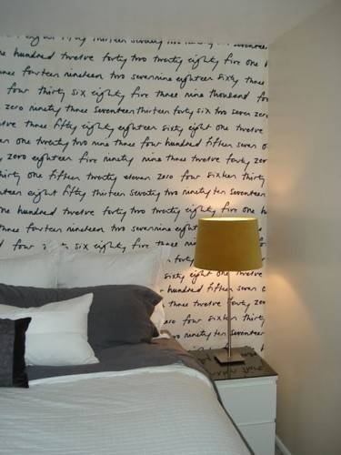 Декор стены тканью с фотопечатью