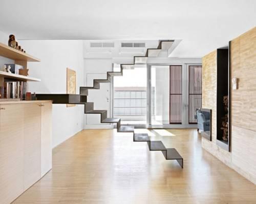 Уникальная плавающая в воздухе лестница от Hover Home