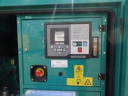 Дизель генератор - панель управления