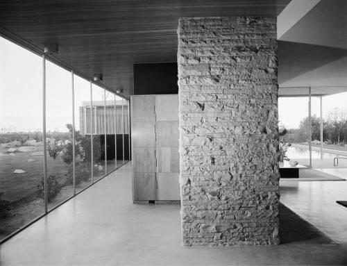 Kaufmann Desert House. 1946 год. Палм-Спрингс, Калифорния.