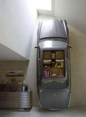 Полка в виде автомобиля