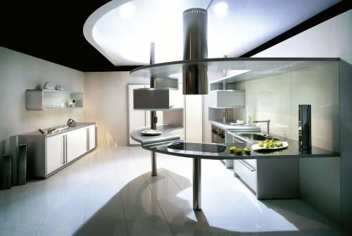 Алюминиевая кухня Acropolis от Snaidero
