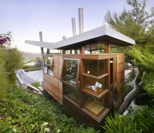 Хижина на дереве Баньян от  Rockefeller Partners Architects
