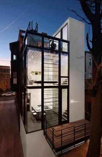 Дом - Штрих-код от David Jameson Architect