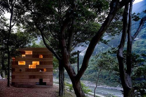 Дом от Sou Fujimoto Architects