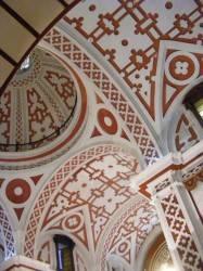 Потолок в перуанском стиле с лепниной — фото 1