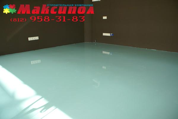 Наливной пол от компании Максипол — фото 3
