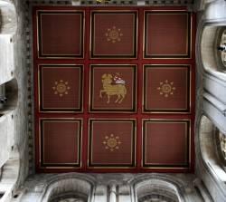 Потолок в Кафедральном соборе Рипон