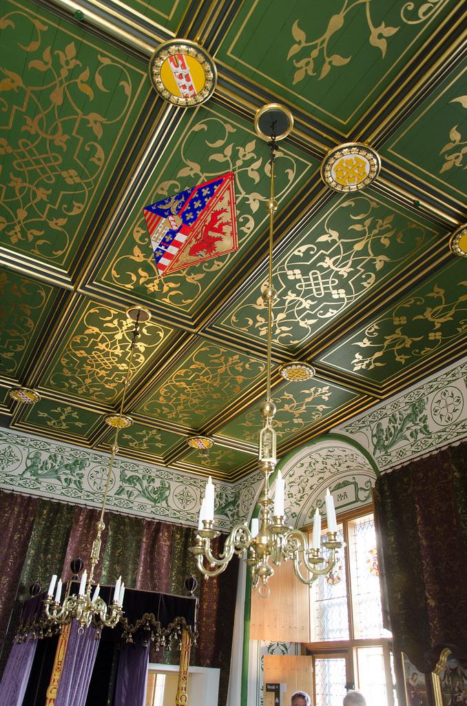 Потолок замка Стерлинг
