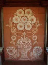 Отель Jardins Secrets — роспись по плитке