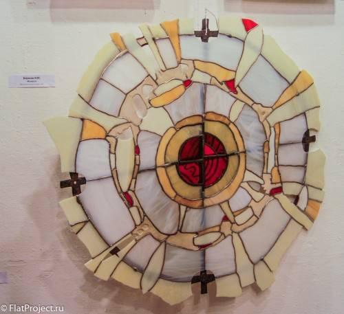 Предметы декора на выставке Осень 2014