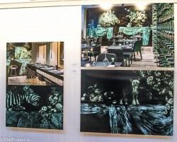 Выставка монументального искусства и ДПИ в СПб СХ — фото 35