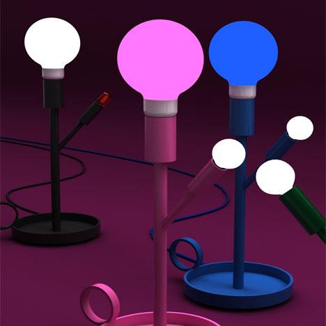 Оригинальные настольные лампы