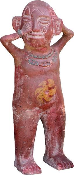 Африканская фигурка